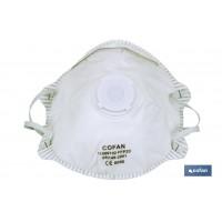 Máscara FFP2D c/Filtro