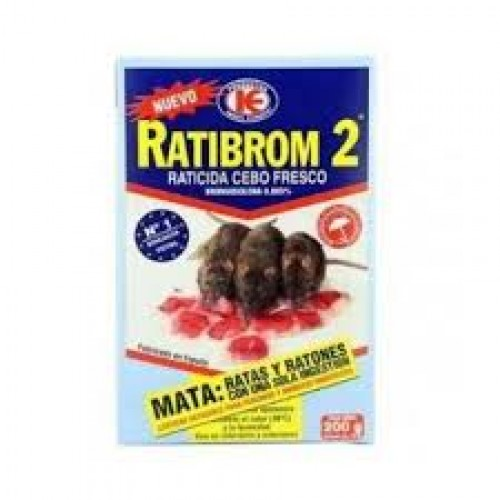 Raticida Ratibrom 150Gr