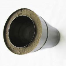 Tubo Inox Duplo 80mm
